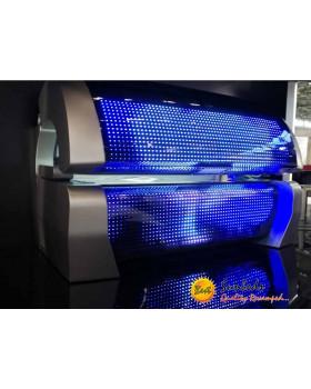 megaSun P9 hybrid bestsunbeds showroom