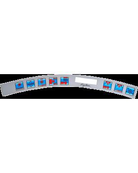 Ergoline Prrestige 1400 Control Panel Sticker