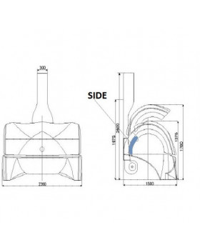 Acrylic sheet for KBL 7900 - BASE